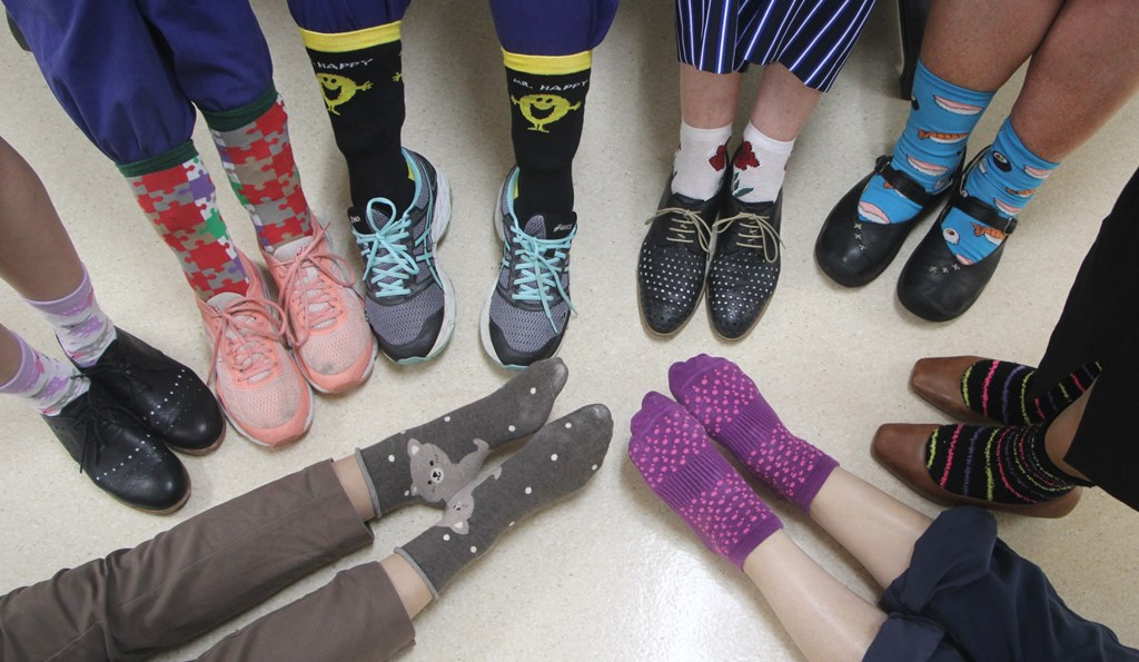 Photograph of Crazy Socks 4 Docs Day